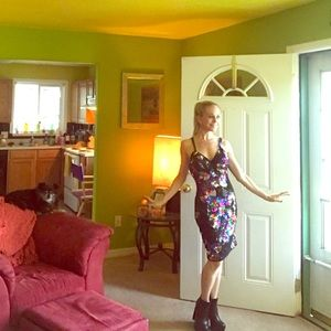 Vintage Sequin Dress (1980's!!)